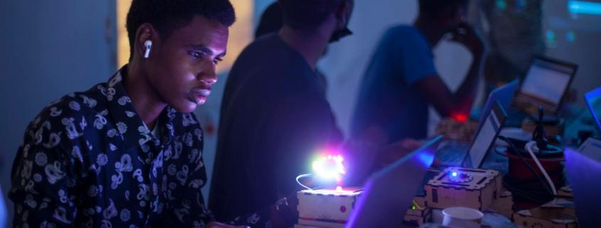 Atelier de fabrication numérique à Ker Thiossane